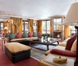 Chalet Apartment Summit I: Living room