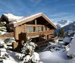 Chalet Valmur: Outside view