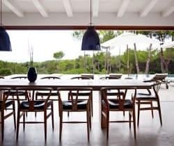 Villa Amala: Dining room