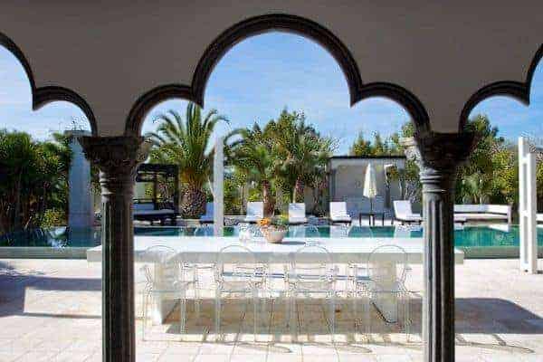 Villa Comares: Al fresco dining area