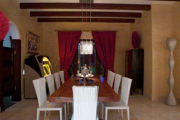 Villa Comares: Dining room