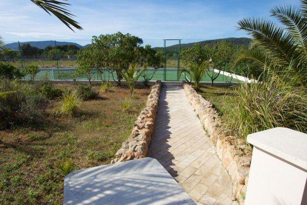 Villa Comares: Tennis court