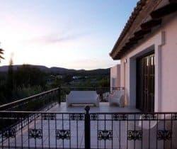 Villa Comares: Terrace