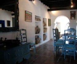 Villa Durga: Dining room