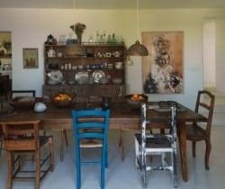 Villa Magat: Dining room