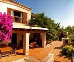 Villa Roana: Terrace
