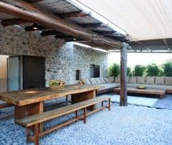 Villa Salgada - Al fresco dining area