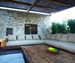 Villa Salgada - Outdoor chill out area