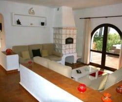Villa Tuiga: Living room