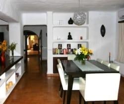 Villa Tuiga: Dining room