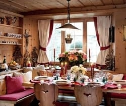 Chalet Graf: Dining area
