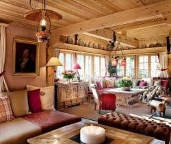 Chalet Graf: Living area