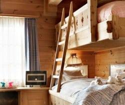 Chalet Graf: Bunk bedroom