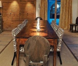 Chalet Kestrel: Dining room