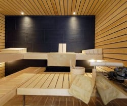 Chalet Kestrel: Sauna
