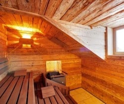 Chalet Zeris: Spa sauna