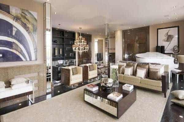Apartment Hyde Park: Reception room