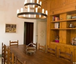 Casale Fonte: Dining room
