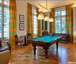Villa Prix: Billiard room