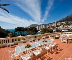 Villa Prix: Terrace