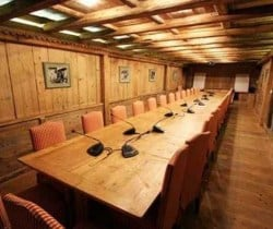 Chalet Titania: Conference room