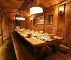 Chalet Titania: Restaurant