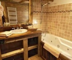 Chalet Titania: Bathroom