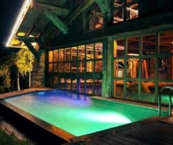 Chalet Titania: Swimming pool