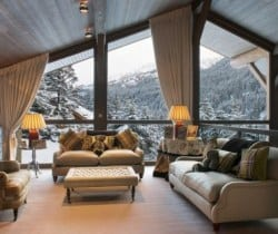 Chalet Les Brames: Living room