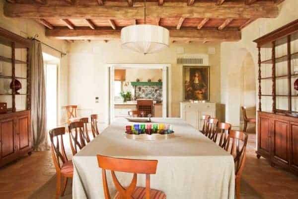 Villa Brunello: Dining room