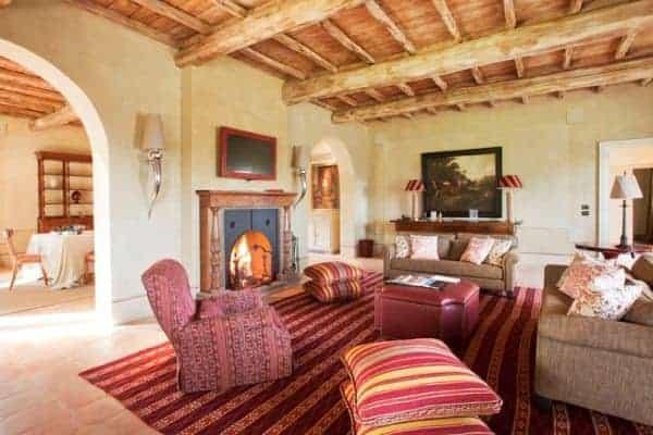 Villa Brunello: Living room