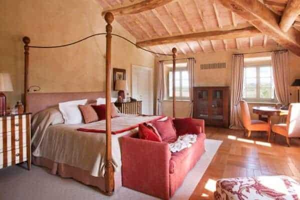 Villa Brunello: Master bedroom