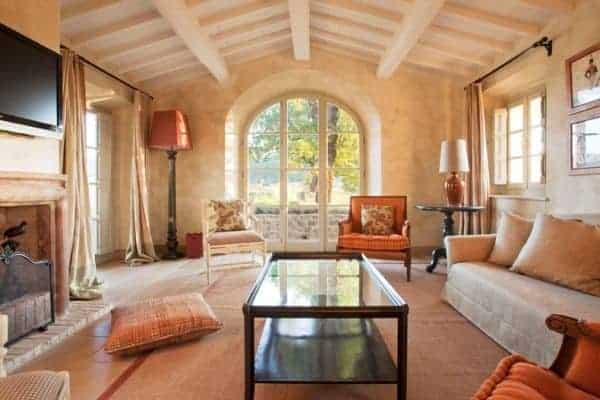 Villa Brunello: Pool House - Living room