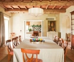 Villa Brunello: Dining room