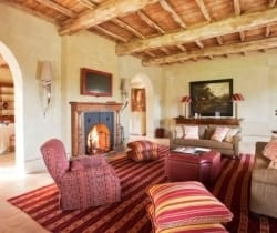 Villa Brunello: Living room