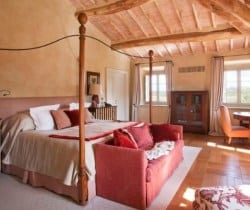 Villa Brunello: Master bedroom