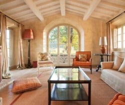 Villa Brunello: Pool House - Living room