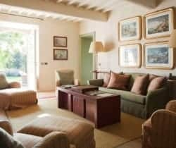 Villa Candia: Living room