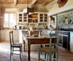 Villa Montalcino: Kitchen