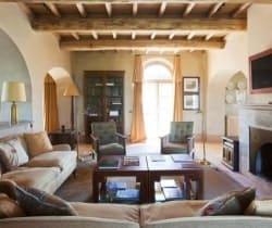 Villa Montalcino: Living room