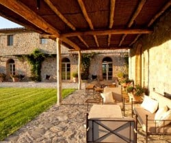 Villa Montalcino: Outdoor chill out area