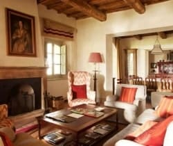 Villa Morellino: Living room