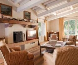 Villa Orcia: Living room
