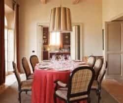 Villa Sovrana: Dining room
