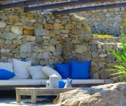 Villa Aquarella: Outdoor chill out area