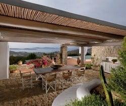 Villa Levanda: Al fresco dining area