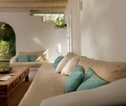 Villa Levanda: Outdoor chill out area