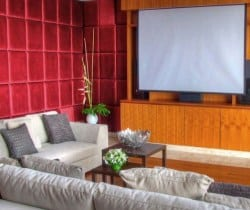 VIlla Latika: Cinema room