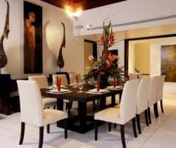 Villa Shanti: Dining room