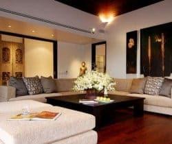 Villa Shanti: Living room